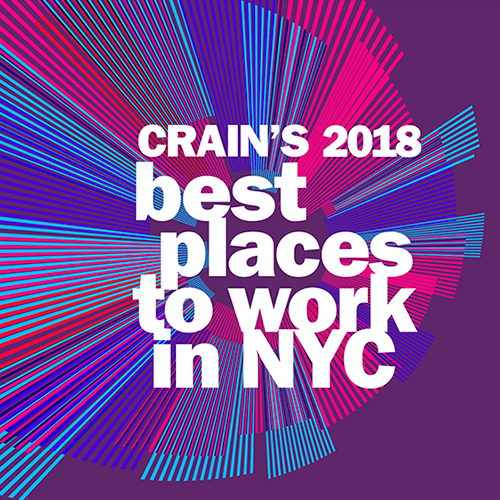 Crain's Names PlaceIQ Best Place to Work for 5th Year!