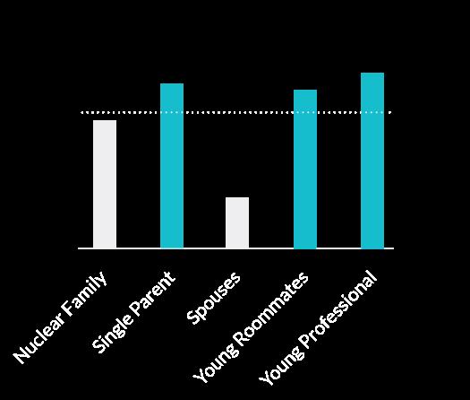Chart: Demographics - household type