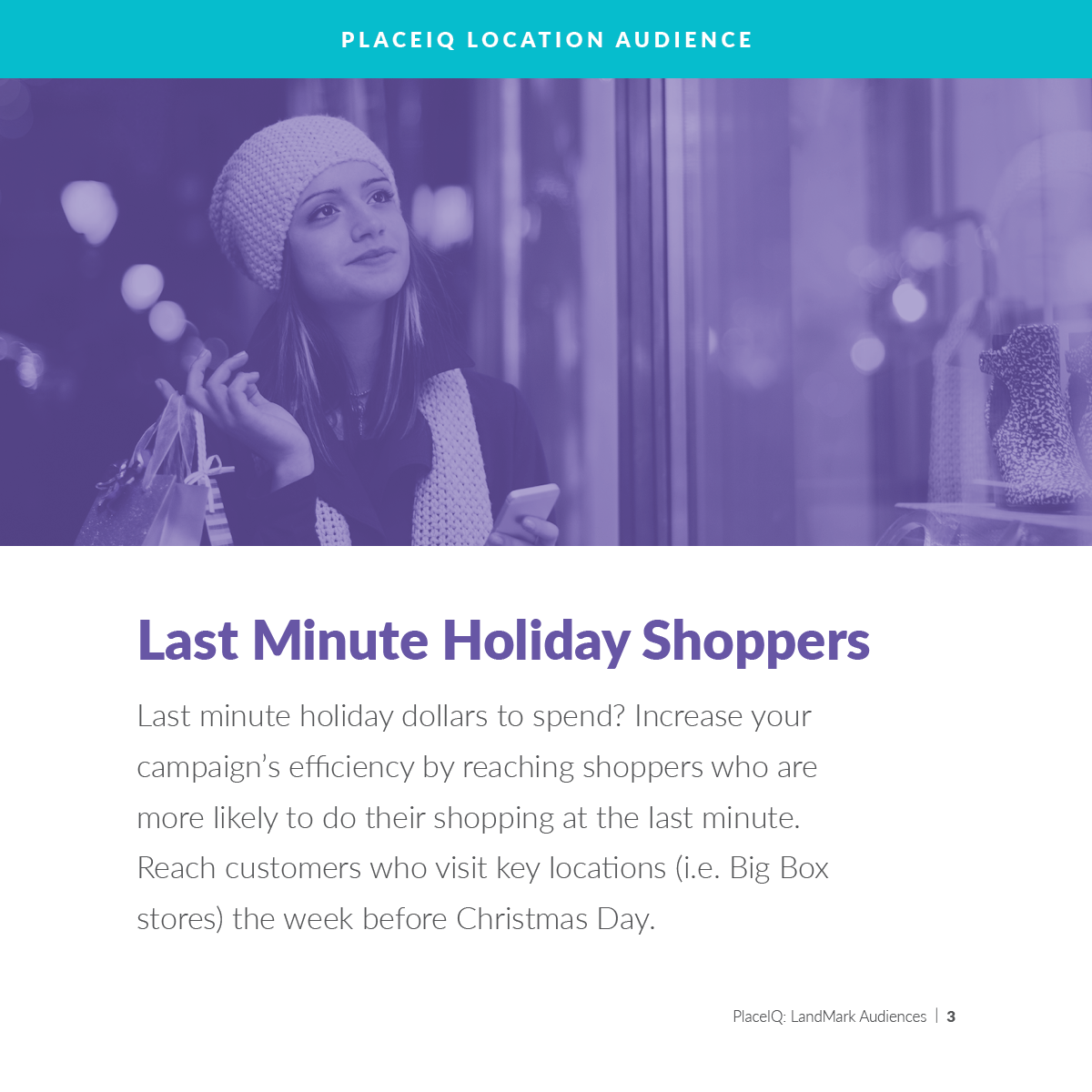 Last Minute Holiday Shoppers