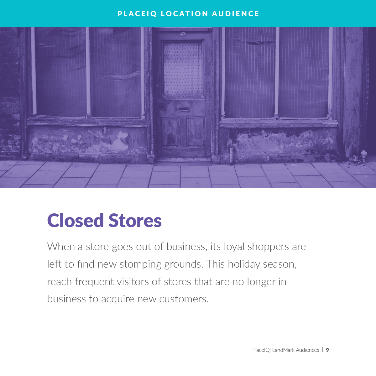 Closed Stores
