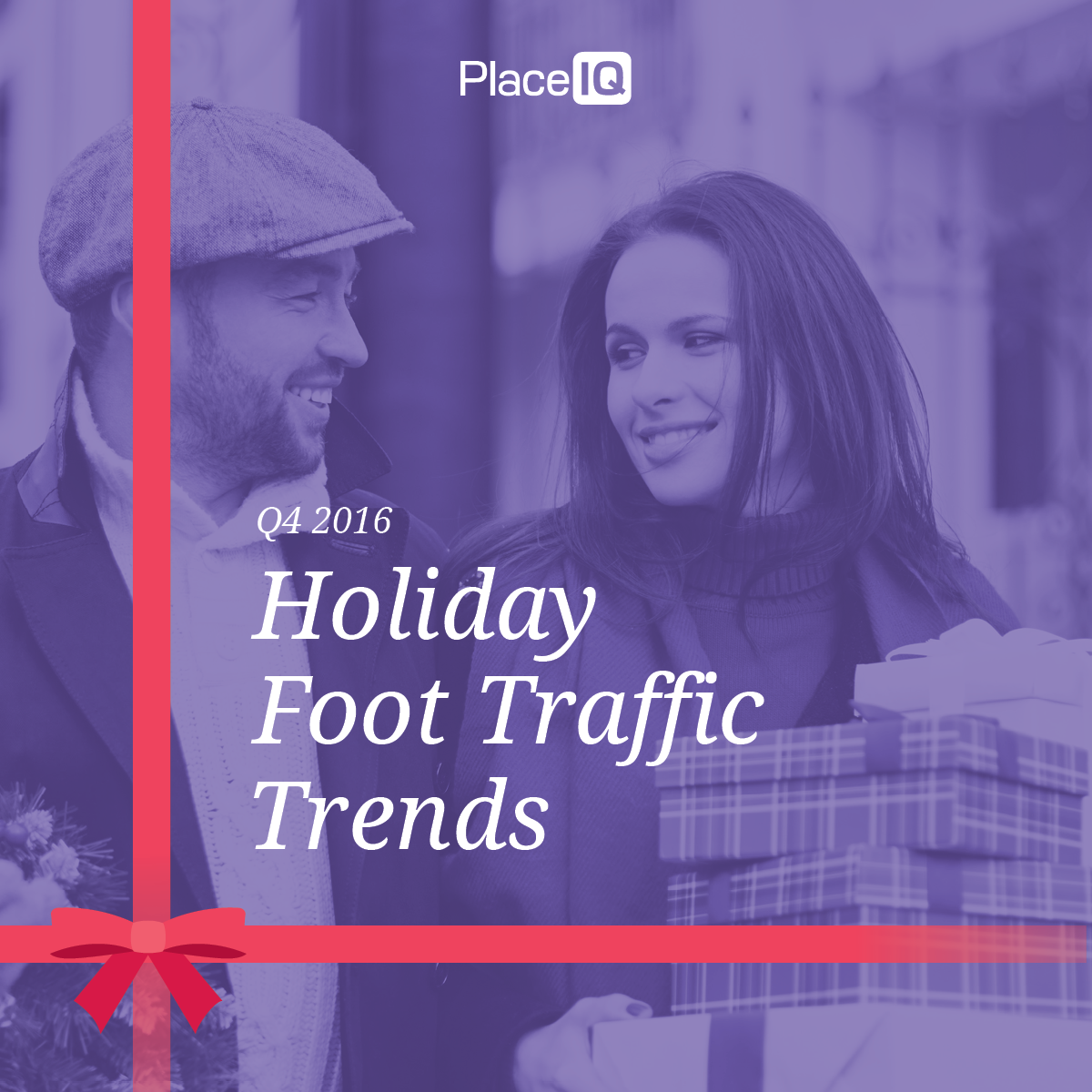 PlaceIQ 2016 Q4 Holiday Foot Traffic Trends