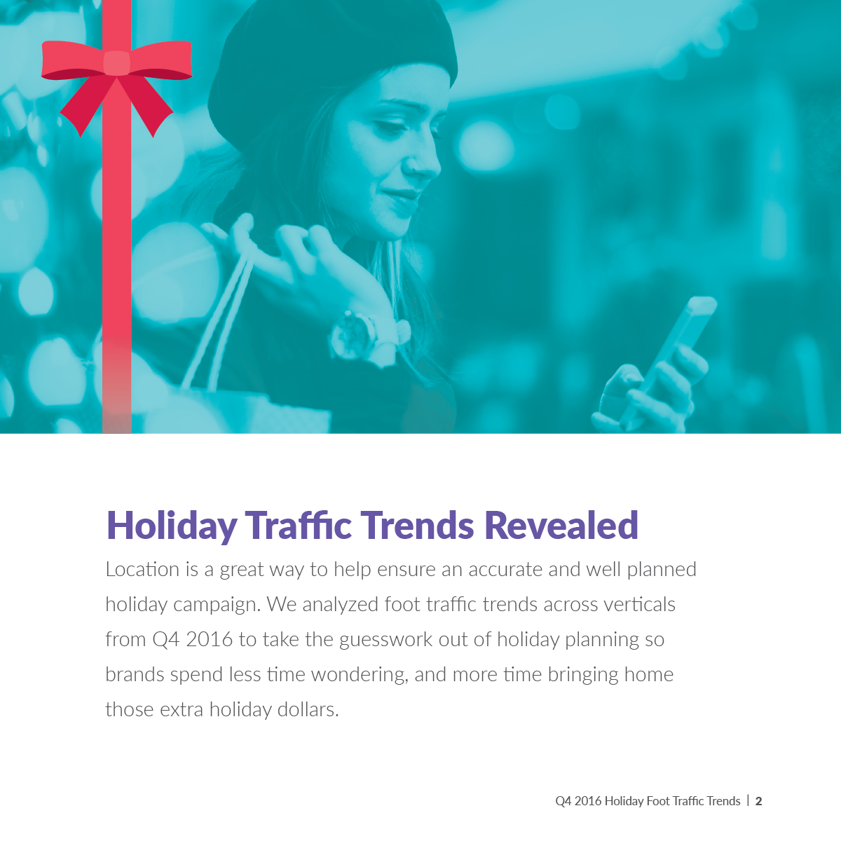 Holiday Traffic Trends Revealed