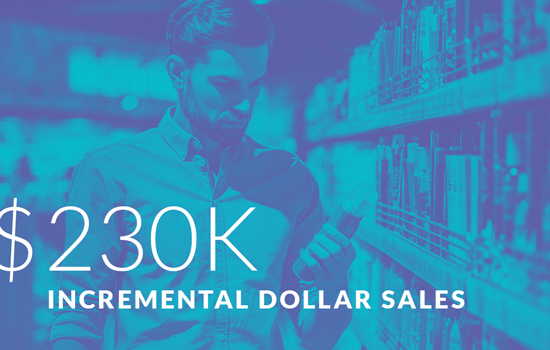 $230K Incremental Dollar Sales