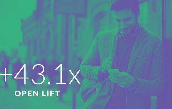 +43.1x Open Lift